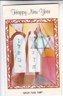 HAPPY NEW YEAR. SHOLOM GREETING CARD CO. ISRAEL. CIRCA 1960s - BLEUP - Nieuwjaar