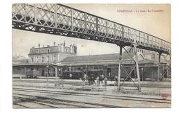 54/ MEURTHE Et MOSELLE...LUNEVILLE: La Gare. La Passerelle - Luneville