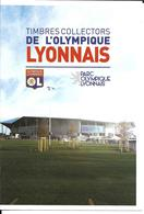 OLYMPIQUE LYONNAIS - STADE LYON - GROUPAMA STADIUM - 10 TIMBRES AUTOCOLLANTS -  10 STAMPS - STADIO - ESTADIO - Football