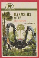 Les Machines De L' Île. Nantes. France. Visuel : L' Araignée. 2018. - Tickets D'entrée