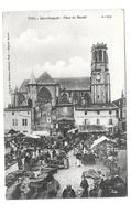 54/ MEURTHE Et MOSELLE...TOUL: Saint Gengoult. Place Du Marché - Toul