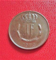 LUXEMBOURG 1 Franc 1973 (B4 - 18) - Luxembourg