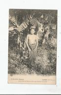 LAOS 9 (NU) JEUNE FILLE DU BAS LAOS DANS UNE FORET DE BANANIERS (BEAU PLAN) 1923 - Laos