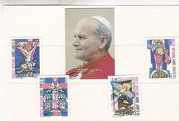 VATICANO. YVERT 739/42 MICHEL 816/819 MNH CIRCA 1983 - BLEUP - Vatican