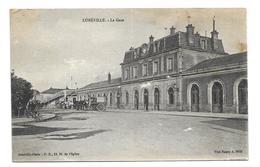 54/ MEURTHE Et MOSELLE...LUNEVILLE: La Gare - Luneville