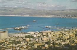 HAIFA. THE HARBOURQUATER. LE QUARTIER DU PORT. PALPHOT. CIRCULEE 1961 A L'ARGENTINE - BLEUP - Israël