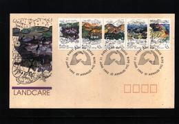 Australia 1992 Landcare FDC - Umweltschutz Und Klima