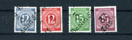 Allierte Besetzung (Sowjetische Zone-Alg. Ausgaben) 1948, Bezirkshandst. Aufdr. - Zone Soviétique