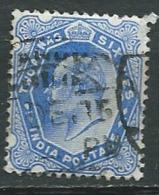 Inde    - Yvert N°  61 Oblitéré -  Abc 29839 - 1902-11 King Edward VII