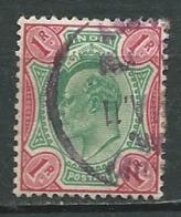 Inde    - Yvert N°  67 Oblitéré -  Abc 29840 - 1902-11 King Edward VII