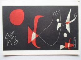 Miro Fragment D'un Tryptique - Peintures & Tableaux