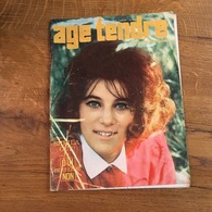 171/ AGE TENDRE N° 19 1964 SHEILA , JOHNNY ECT - People