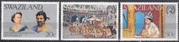 Swaziland - 1977 Silver Jubilee - Queen Elizabeth II 25th Anniversary Of Reign - Swaziland (1968-...)