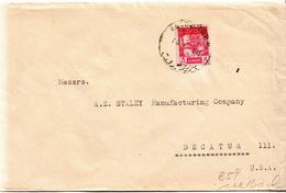 Postal History Cover: Lebanon Cover - Lebanon