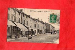 F0901 - LENTILLY - 69 - Rue Principale - France