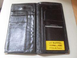 Ancienne Pochette Noire Pub Journal De Mons Le Rappel L'écho Du Centre - Autres Collections