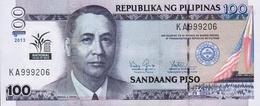 Philippines P.220 100 Piso 2013  Unc - Philippines
