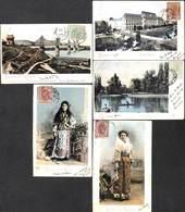 Romania - Salutari Din Romania - Lot Of 5 Postcards Edit. Ad. Maier & D Stern, 1903) - Roumanie