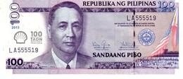 Philippines P.219  100 Piso 2013  Unc - Philippines