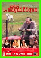 AFFICHE DE FILM - ANDRÉ LE MAGNIFIQUE UNE COMÉDIE D'AVENTURES ! EN 2000 - - Affiches Sur Carte