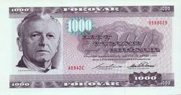 1994 FAROE ISLANDS VERY RARE 1000 KRONUR   ( P 23 ) - UNC - - Féroé (Iles)