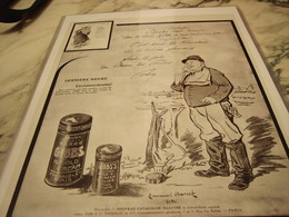 ANCIENNE PUBLICITE LES POILUS ET SAVON A BARBE  GIBBS    1915 - Parfums & Beauté