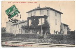 01 - VILLARS Les DOMBES - Villa Des Roses - Edittion Ferrand à Bourg N° 3529 - Villars-les-Dombes
