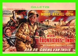 AFFICHE DE FILM - AUX FRONTIÈRES DES INDES - ÉDITIONS F. NUGERON - - Affiches Sur Carte