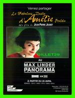 AFFICHE DE FILM - LE FABULEUX DESTIN D'AMÉLIE POULAIN - FILM DE JEAN-PIERRE JEUNET - - Affiches Sur Carte