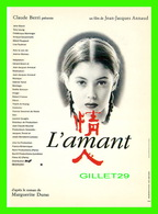 AFFICHE DE FILM -  L'AMANT UN FILM DE JEAN-JACQUES ANNAUD - - Affiches Sur Carte