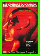 AFFICHE DE FILM -  LES CINÉMAS DU CANADA EN 1993 AU CENTRE GEORGES POMPIDOU - - Affiches Sur Carte