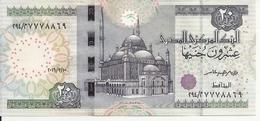 EGYPTE 20 POUNDS 2016 UNC P 65 - Egypte