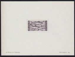 ISTRIA AND SLOVENE COAST (1945) Tuna. Presentation Proof Printed By Helio-Vaugirard In 1951. Scott No 34 - 9. Besetzung 2. WK (Italien)