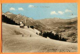 VAL016, Briançon , Le Poët Ollagnier, Skieur, Ski, Circulée 1932 - Briancon