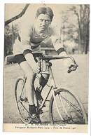 CYCLISTE - H. PELISSIER Routier Français - Vainqueur Bordeaux-Paris 1919 - Tour De France 1923 - Cycling