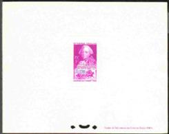 ALGERIA (1949) Stagecoach. Choiseul. Deluxe Sheet. Scott No B57, Yvert No 275. Scarce! - Autres