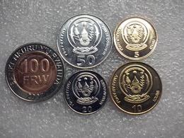 Rwanda 5 - 100 Francs , UNC - Rwanda