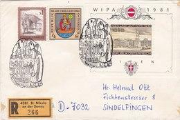St. Nikola An Der Donau - Registered Letter - 1945-.... 2. Republik