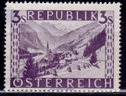 Austria 1947-48, Heiligenblut, Carinthia, 3s, Sc#514, Used - 1945-.... 2nd Republic