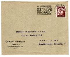 Firmen-Brief Ohne Inhalt 1935, Von Breslau Nach Berlin - Alemania
