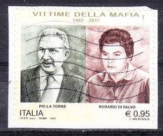 2017  VITTIME DELLA MAFIA USATO - 6. 1946-.. Repubblica