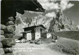 PASSO TRAVIGNOLO  TRENTO  Dolomiti  Baita Segantini  Motocicletta  Auto Spider  VW Maggiolino Kafer - Trento