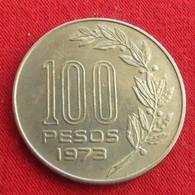 Uruguay 100 Pesos 1973 KM# 59  Uruguai - Uruguay