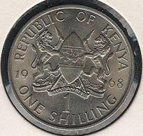 Kenia, 1 Shilling 1968, UNC - Kenya