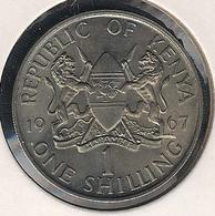 Kenia, 1 Shilling 1967, UNC - Kenya