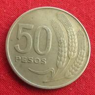 Uruguay 50 Pesos 1970 KM# 57  Uruguai - Uruguay