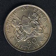 Kenia, 50 Cents 1966, UNC - Kenya