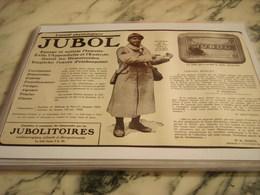 ANCIENNE PUBLICITE LAXATIF JUBOL 1917 - 1914-18