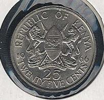 Kenia, 25 Cents 1966, UNC - Kenia