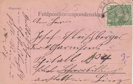 Feldpostkarte - Raab Nach Linz  - 1915 (38550) - 1850-1918 Imperium